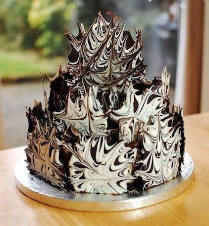 Шоколадный декор своими руками