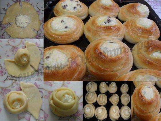Как сделать форму булочек красивой