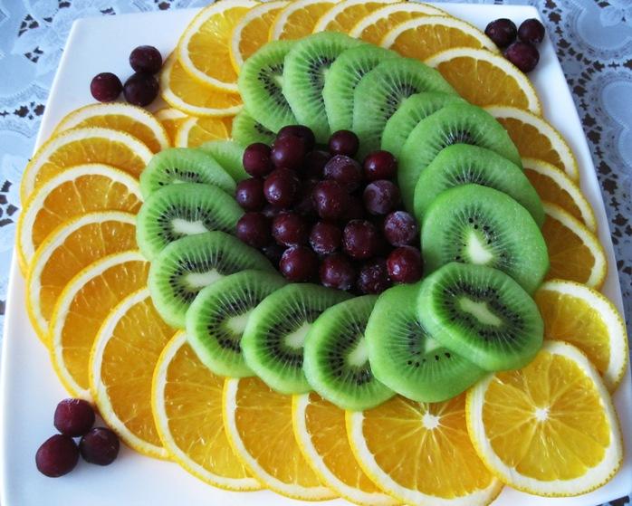 Фото нарезки овощей и фруктов своими руками фото