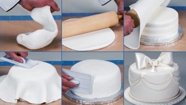 Пошаговый рецепт с торт с мастикой